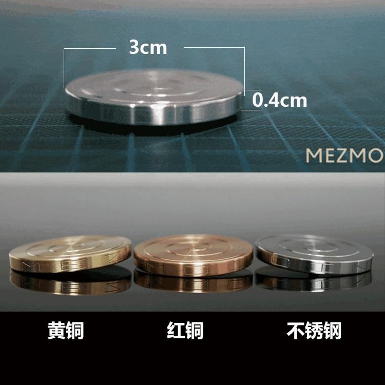 Decompression Desktop Gyro Desktop Gyro Metal Transfer Coin Gyro Relieve Pressure Release Inner Creative Gyro Lucky Coin Gift
