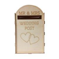 Diy Wooden Wedding Supplies Mailbox Royal Mail Style Ornaments Wedding Post Box Card Boxes