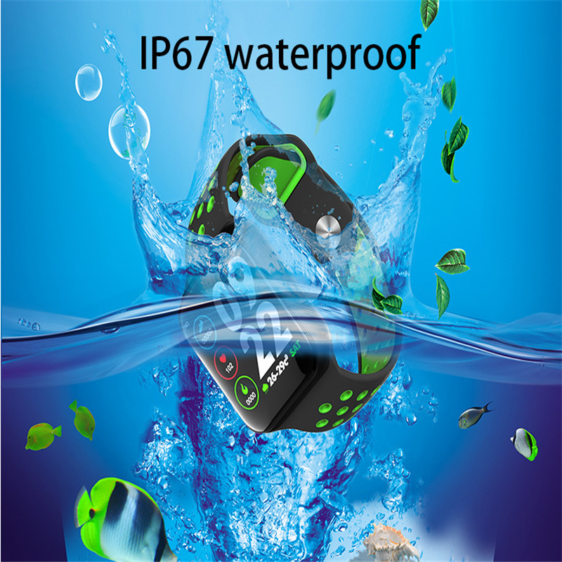 intelligent watch waterproof bluetooth V4.0 for Apple Xiaomi Android for women men kids (3)