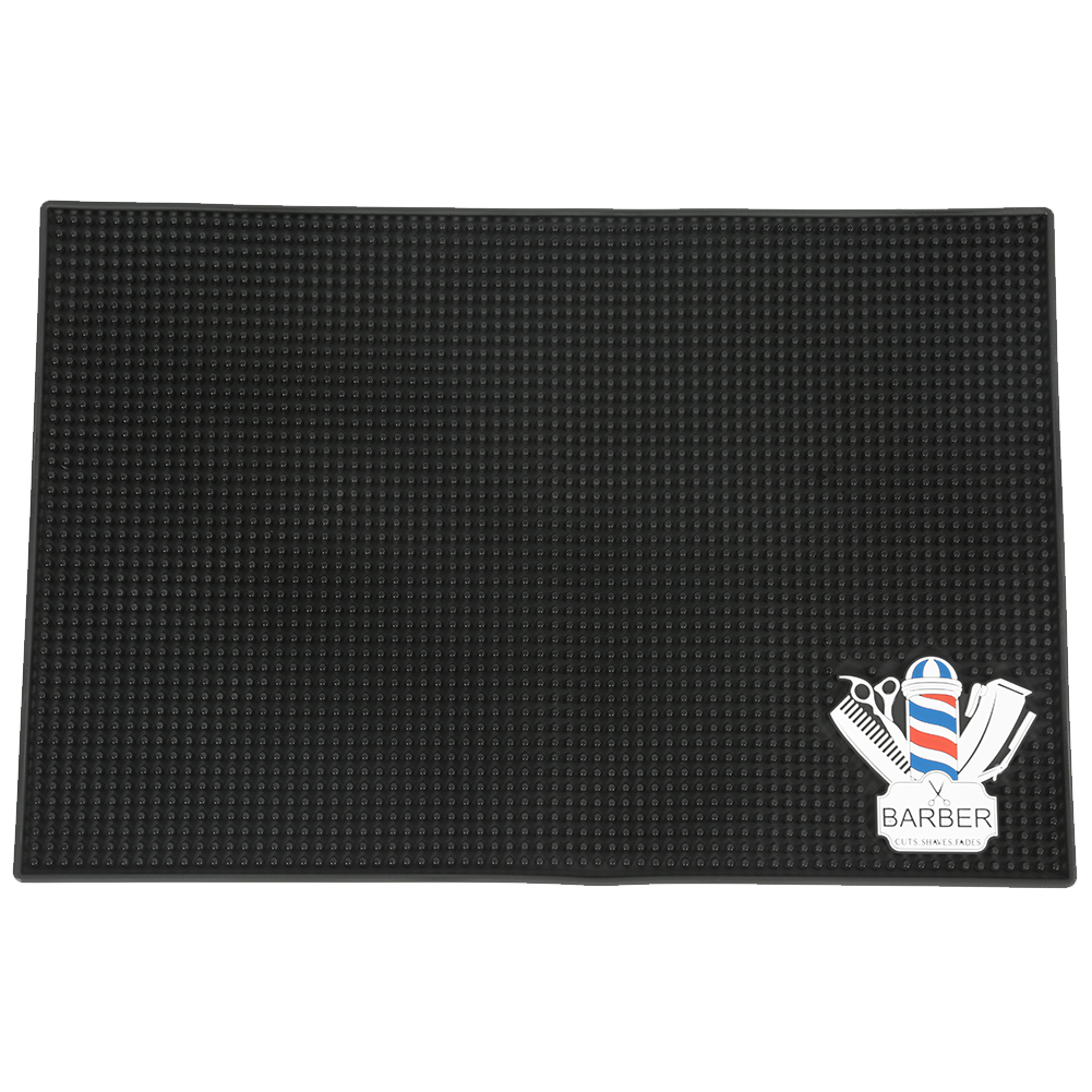 Hairdressing Countertop Anti-skid Silicone Mat Dressing Table Storage Anti-slip Tool Pad For Hair Comb Salon Use Salon Tool