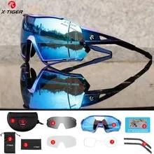 X-TIGER Riding Cycling Sunglasses Running Fishing Sports Polarized Eyewear Men's Women Bicicleta Cilismo Lentes UV400 Glasses