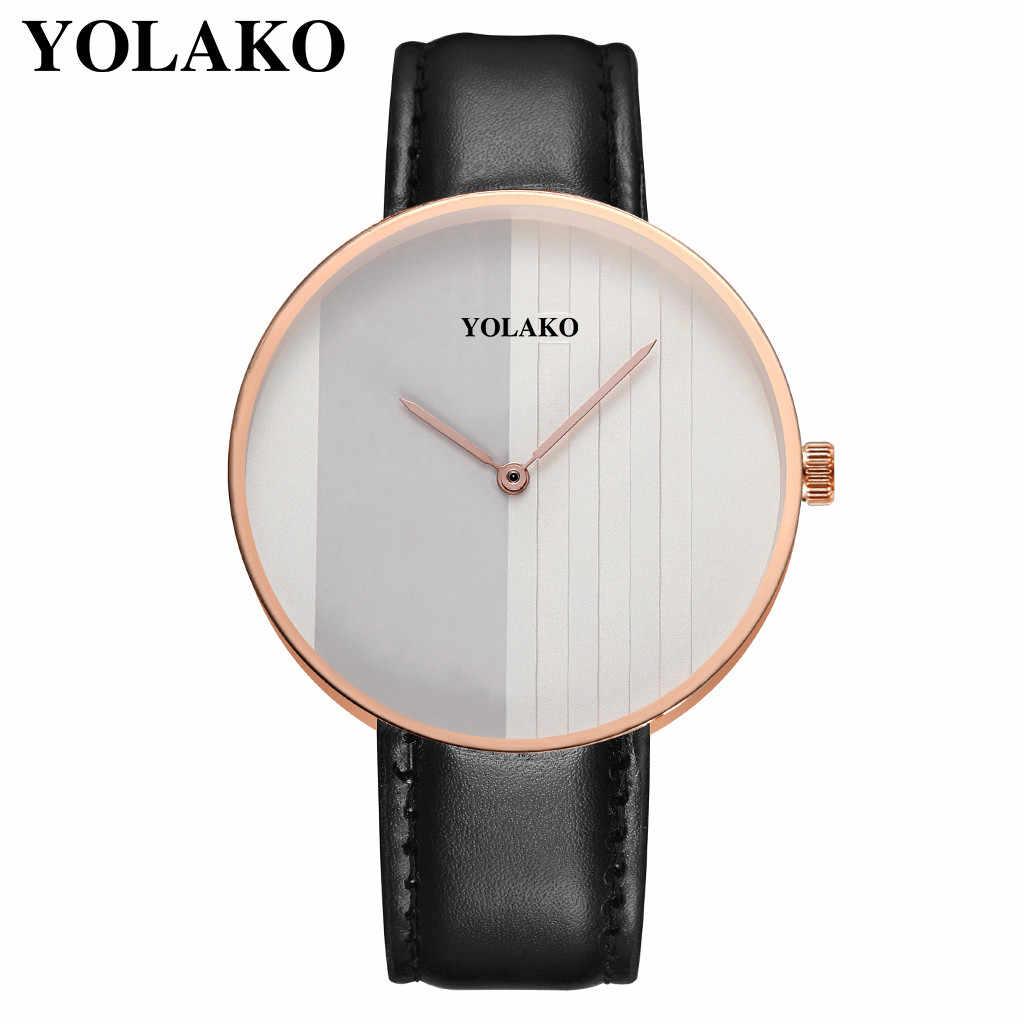 正方形の時計 kol saat 男の腕時計 2019 メンズカジュアルクォーツレザーバンド Newv アナログ腕時計アイスアウト腕時計