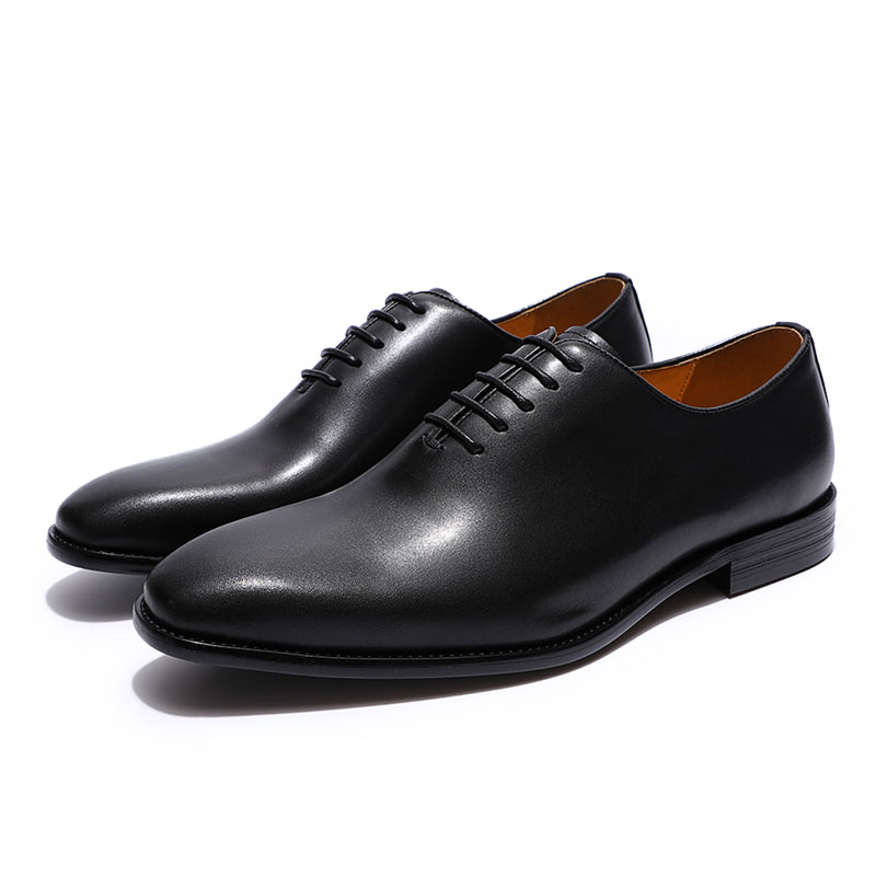 Classic men's Oxford shoes, made of genuine leather 3