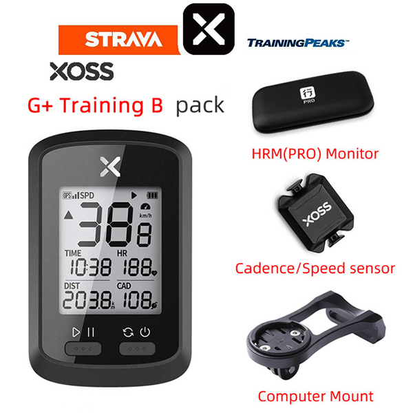 XOSS <font><b>Bike</b></font> <font><b>Computer</b></font> G + Wireless <font><b>GPS</b></font> Speedometer Waterproof Road <font><b>Bike</b></font> MTB <font><b>Bike</b></font> Bluetooth ANT + <font><b>with</b></font> Cadence Cycling <font><b>Computer</b></font> image