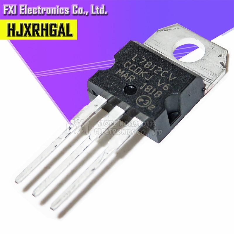 10PCS L7812CV TO220 L7812 TO-220 stabilivolt voltage-regulator tube High quality