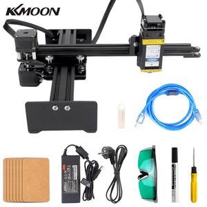 Image 1 - KKMOON graveur de bureau Portable professionnel, Machine à graver, DIY, 10000 bois, CNC mW