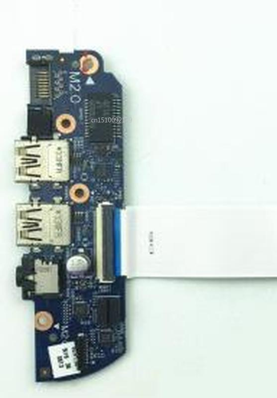 Original For Hp Envy 15-J Series Modul USB Jack Audio RJ45 6050A2548601 Free Shipping