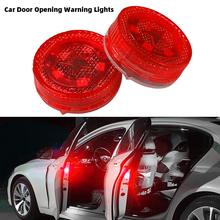 3 Style Car Door Opening Warning Lights 5 LED Flashing Safety Lamps Anti-Collision Signal Light Indication Lamps car led light side door collision warning magnetic flashing strobe lights signal lamps cars bulbs lamp auto accessories 4pcs