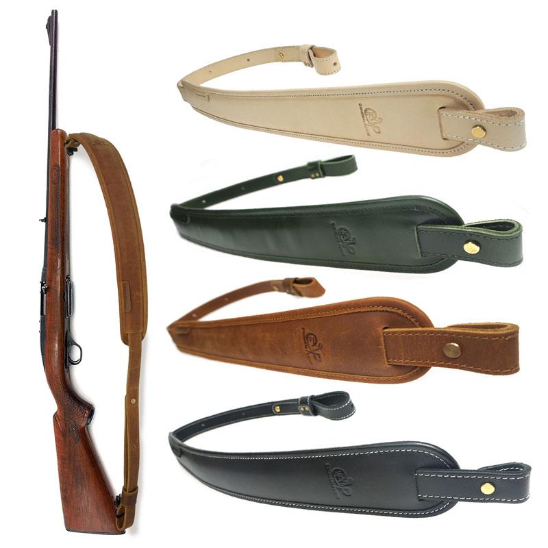Caça rifle arma estilingue ombro acolchoado artesanal