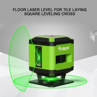 Red/Green Beam 5 Cross Exactos Straight Line Laser Level For Tile Laying Square Leveling Construction Tools Fixtures FL360R/G