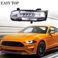US Version LED Turn Light Fog Light For Mustang 2018+