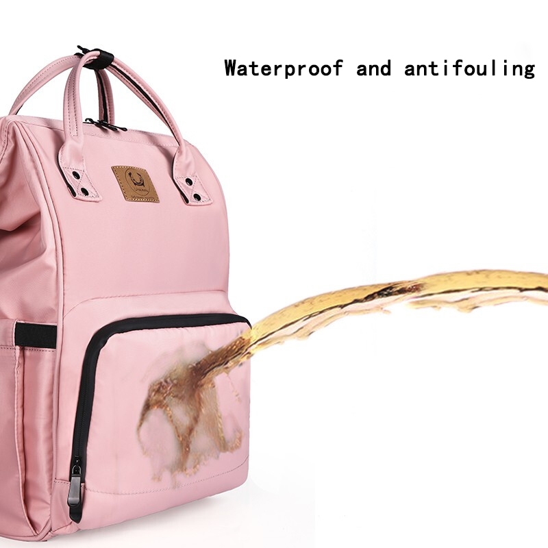 Fashion Mummy diaper bag  Maternity Nappy Bag Large Capacity Nappy Bag Travel Backpack Nursing Bag for Baby Care Women's Fashion