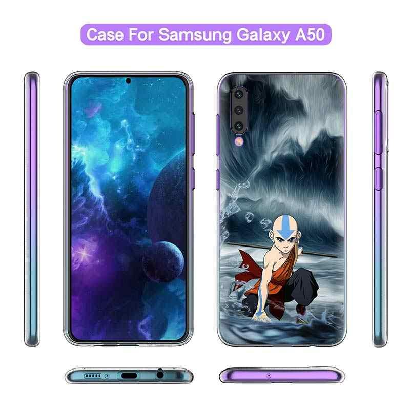 Avatar Dernier Maître De L'air étui pour samsung Galaxy A50 A20 e A70 A80 A60 A40 A30 A10 s A9 A7 A8 A6 Plus 2018 Silicone Couverture de Téléphone Sac
