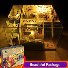 Кукольный домик «океанская любовь» «сделай сам» с мебелью для