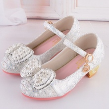 Hot Sale Autumn Girls Leather Shoes Girl Party Kids Girl Dan