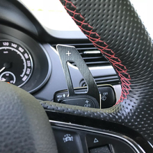 Металлический рычаг переключения передач на руль для VW GOLF GTI 7 R GTD GTE MK7 POLO 6C GTI Passat B8 R-line Scirocco, не golf 7