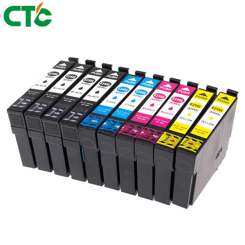 T2991 29xl 29 Ink Cartridge Kompatibel untuk Epson XP 235 245 247 332 335 355 255 342 345 432 435 442 445 352 455 XP-255