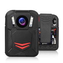 Нательная камера boblov g2a 2k 1440p ночное видение gps полицейская
