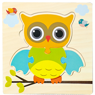 Baby Toys Wooden 3d Puzzle Tangram Shapes Learning Cartoon Animal Intelligence Jigsaw Puzzle Toys For Children Educational 22