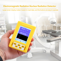 BR 9C 2 in 1 Digital Display Electromagnetic Radiation Nuclear Radiation Detector Geiger Counter Full functional Type Tester