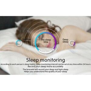 Image 5 - Kaihai smart watch睡眠スマートウォッチ心拍数モニター健康フィットネストラッカーストップウォッチinteligenteアンドロイドios用