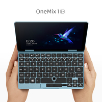 New Mini Laptop OneMix 7 inch Skyblue Notebook Mini PC Core M3 8100Y 8GB RAM 256GB PCIe SSD Portable Laptops Tablet 2in1
