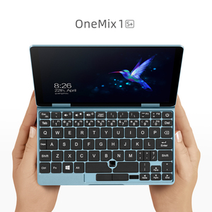 New Mini Laptop OneMix 7-inch Skyblue Notebook Mini PC Core M3-8100Y 8GB RAM 256GB PCIe SSD Portable Laptops Tablet 2in1