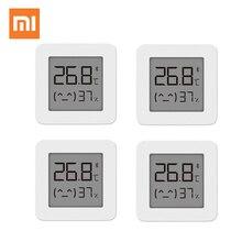 XIAOMI Bluetooth cyfrowy termometr 2 ekran LCD cyfrowy miernik wilgotności bezprzewodowy inteligentny czujnik wilgotności temperatury bez baterii