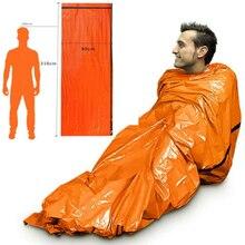 Outdoor Life Bivy Emergency Sleeping Bag Thermal Keep Warm Waterproof Mylar Firs