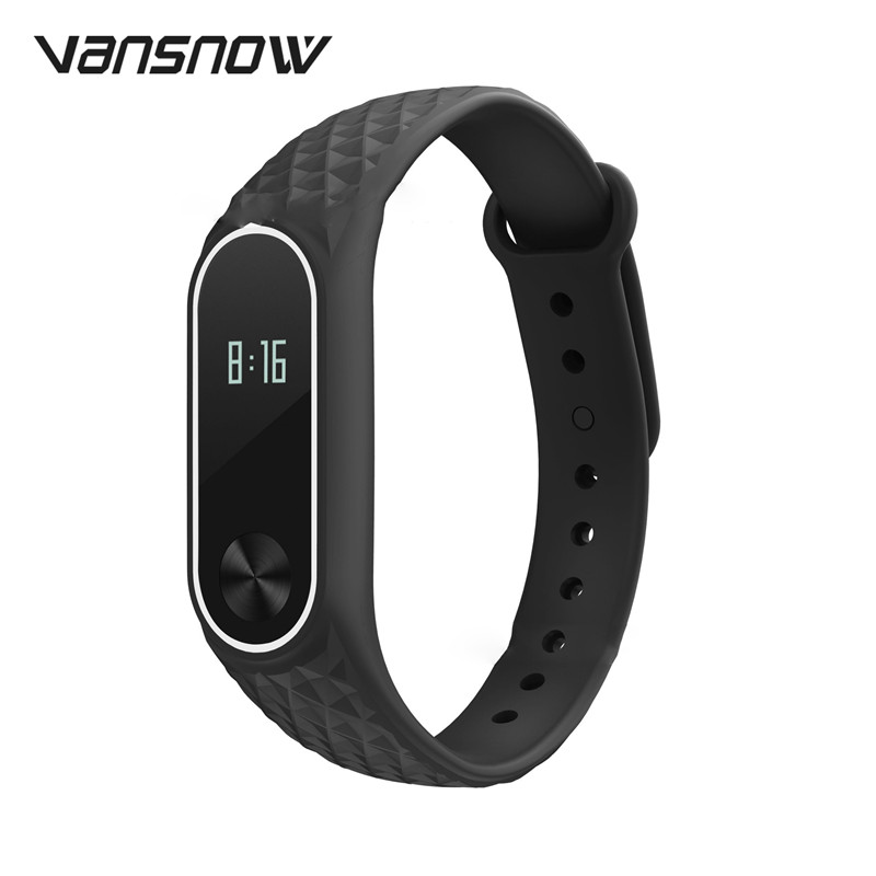 12 Colors Smart bracelet For Mi band 2 Strap Replacement Silicone Wristband for Band Bracelet Xiaomi Accessories