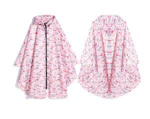 Image 3 - Freesmily kadın moda yağmurluk su geçirmez yağmur panço pelerin Hood yürüyüş tırmanma ve tur