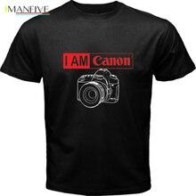 I Am Canon Camera Black T Shirt Cool Casual pride t shirt men Unisex New Fashion tshirt free shipping tops ajax 2019 funny2019 f