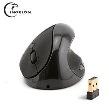 Ingelon Wireless Mouse Wrist souris sans fil logitech Ergonomic Vertical Mouse Optical 800/1600 Computer Mice For Laptop Desktop