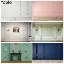 Yeele – arrière-plan mural carré en bois, papier peint pour salon, photographie, arrière-plan photographique personnalisé pour Studio Photo