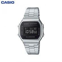 Кварцевые наручные часы Casio A-168WEM-1E мужские часы наручные аксессуары на браслете