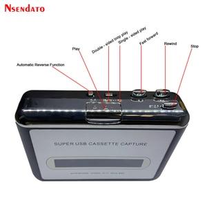 Image 5 - Kaseta USB odtwarzacz taśmy do MP3 konwerter przechwytywania Adapter odtwarzacz muzyki Audio taśma kaseta USB magnetofon kasetowy i odtwarzacz