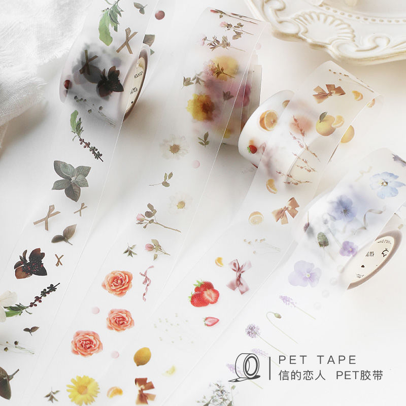 Wild Plants Flowers Washi Tape Adhesive Tape Diy Scrapbooking Sticker Label Masking Tapes