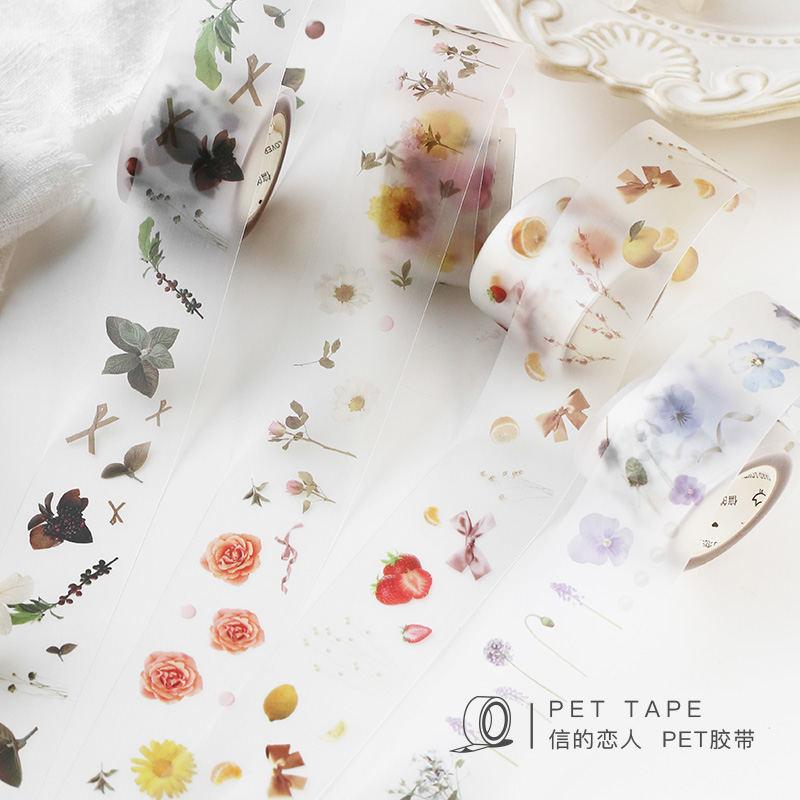 Wild Plants Flowers Washi Tape Adhesive Tape Diy Scrapbooking Sticker Label Masking Tapes