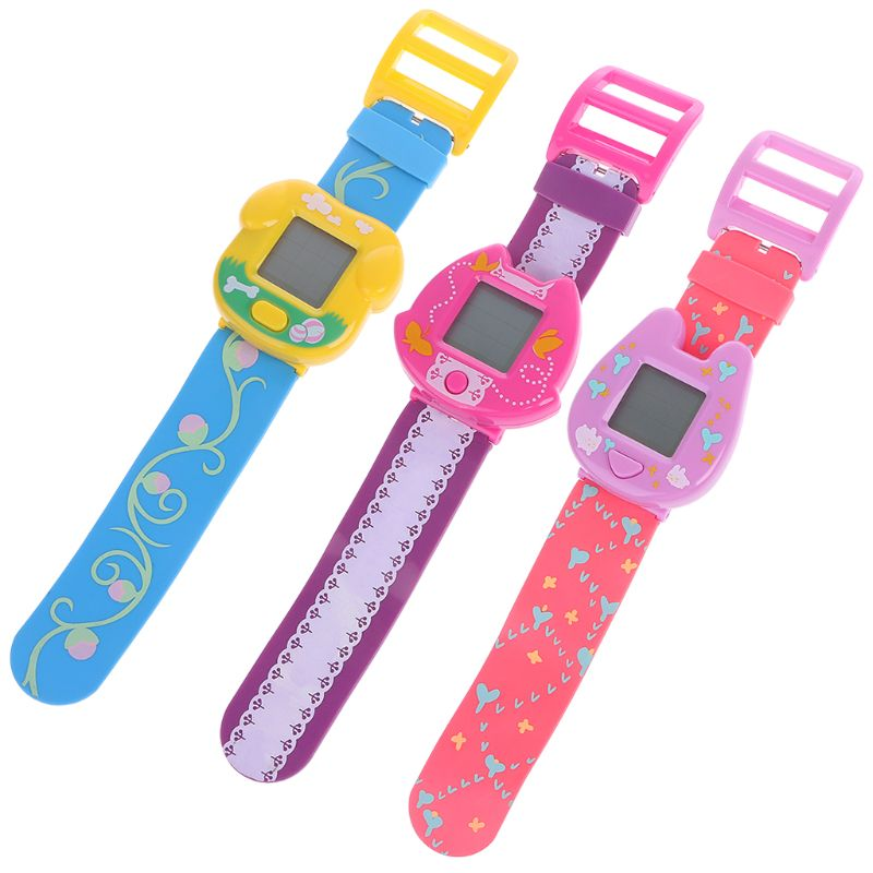 90S Nostalgic Virtual Cyber Pet Toy Funny Watch Gift Retro Game For Children