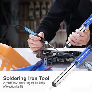 Image 4 - Soldering Iron Kitพร้อมสวิตช์เปิด/ปิด,Rarlight 60W 110Vอุณหภูมิปรับเชื่อมโลหะเครื่องมือบัดกรีเหล็ก