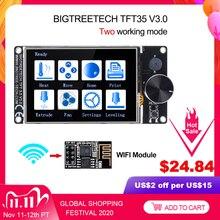 BIGTREETECH TFT35 V3.0 מגע מסך 12864LCD Wifi 3D מדפסת חלקי vs MKS TFT35 עבור SKR V1.4 טורבו SKR V1.3 CR10 אנדר 3 שדרוג