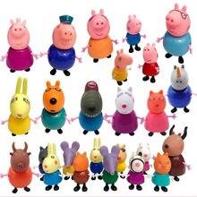Серия «Свинка Пеппа», игрушки для всей семьи, образовательная экшн-фигурка с полными ролями, детские подарки на день рождения