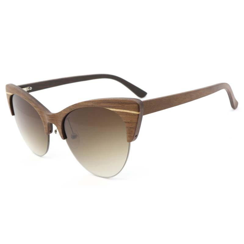 2019 Wood Sunglasses Women Men Brand Designer sunglass Sport Goggles bamboo wooden Sun Glasses oculos de sol