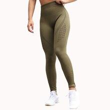 Nepoagym Khika Energy bezszwowe legginsy z wysokim stanem kompresyjne spodnie do ćwiczeń kontrola brzucha spodenki do ćwiczeń Booty Scrunch spodnie do fitnessu