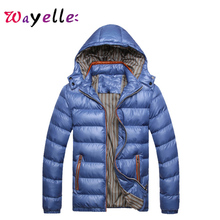 2019 Winter Men's Coats Warm Thick Male Jackets Padded Hooded Parkas Men Overcoats Casual Simple Fashion Jacket For Men L-5XL new brand clothing winter jacket men fashion hooded men s jackets and coats casual thick coat for male warm overcoat outwear 5xl