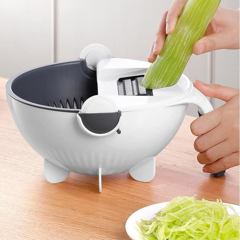 Magic Multifunctional Rotate Vegetable Cutter-aolanscctv