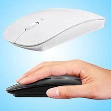 1600 DPI USB souris optique sans fil ordinateur 2.4G r�cepteur Super mince souris pour PC ordinateur portable