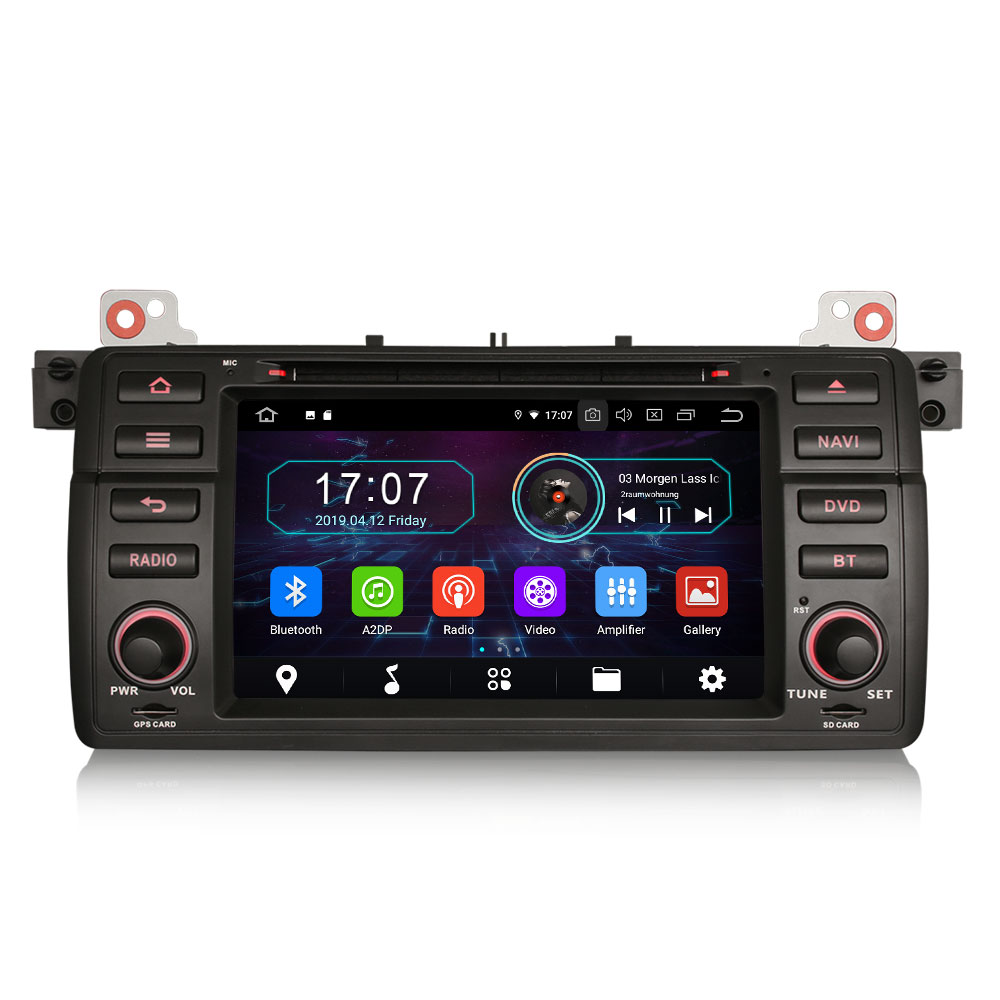 """7"""" Android 10.0 OS Car DVD Multimedia Navigation GPS Radio System Player for MG ZT 2001-2005 with 3G/4G Dongle Support(China)"""