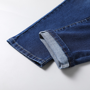 Image 5 - 2020 新綿ジーンズ男性高品質の有名なブランドのデニムパンツソフトメンズパンツ冬厚いジーンズファッションビッグsize40 42 44 46