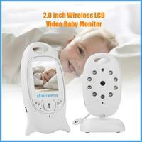 VB601 Video Baby Monitors Wireless 2.0 Inch LCD Screen 2 Way Talk IR Night Vision Temperature Security Camera 8 Lullabies